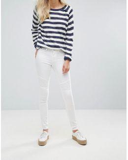 Bright Whitney White Skinny Jeans