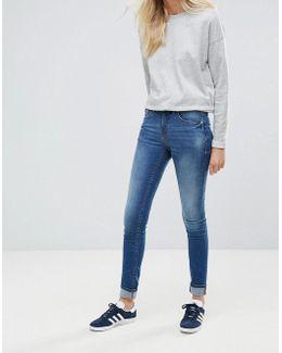 Bright Blush Skinny Jeans
