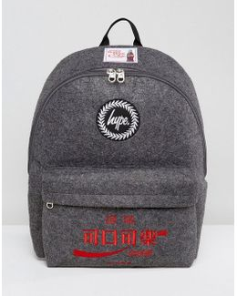 X Coca Cola Backpack In Charcoal
