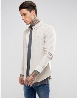 Long Sleeve Slim Shirt