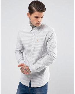 Slim Check Shirt