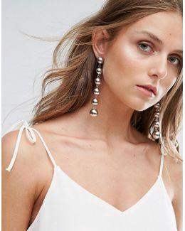 Daollan Ball Drop Earrings