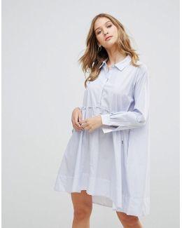 Smithson Stripe Shirt Dress