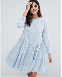 Nuru Schiffley Smock Dress