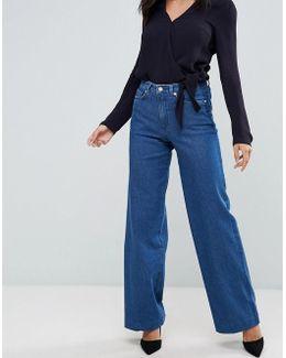 Ash Wide Leg Jeans