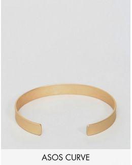 Sleek Matte Cuff Bracelet