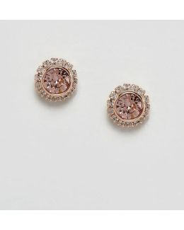 Sully Rose Gold Crystal Stud Earring
