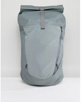 Peckham Rolltop Backpack 27 Litres In Green