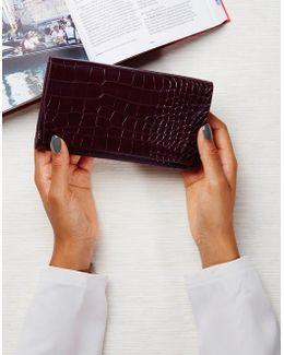 Mock Croc Wallet