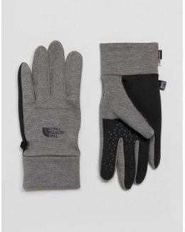 Etip Glove In Mid Grey Heather