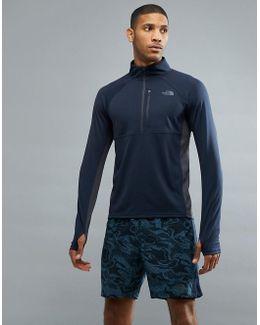 Mountain Athletics Impulse 1/4 Zip Top In Navy