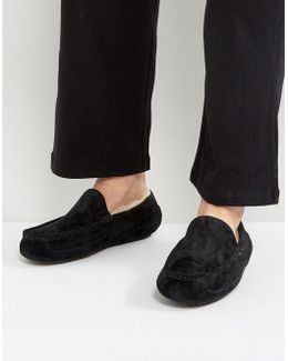 Ascot Suede Water Resistant Slippers