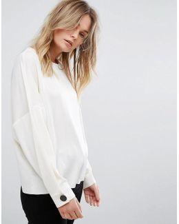 Oversized Sleeve Shell Top