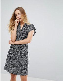 Bluebell Patterned Tie Waist Dress