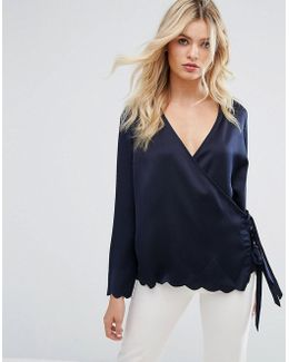 Wrap Round Blouse