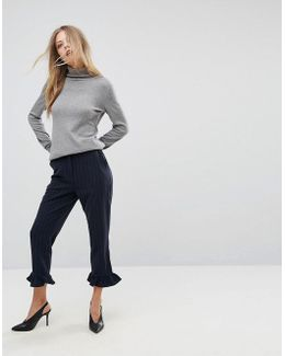 Tailored Striped Pant
