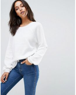 Bell Sleeve Knitted Jumper