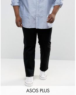 Plus Madison Jeans Slim Fit In Mid Wash Blue