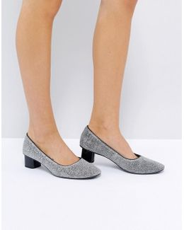 Mid Heeled Ballet Shoe