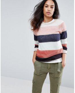 Espirit Wide Stripe Sweater