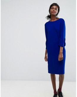 Ochet Ruffle Dress