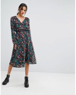 Obitual Long Sleeved Dress
