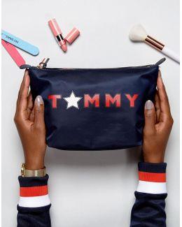 Star Logo Cosmetics Bag