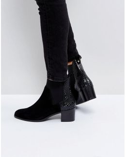 Oprentice Heeled Ankle Boots