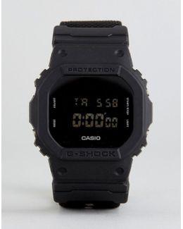 G-shock Dw-5600bbn-1er Digital Canvas Watch In Black