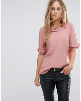 Top With Ruffle Detail