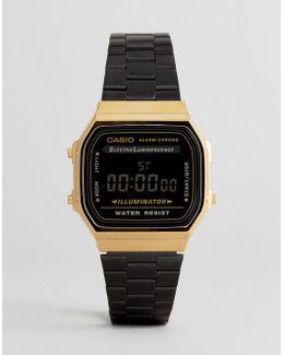A168wegb Digital Bracelet Watch In Black