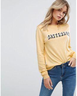 Sisterhood Yellow Sweater