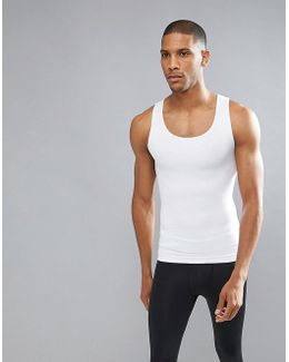 Performance Vest Zoned Hard Core In White