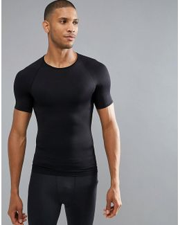 Performance T-shirt Zoned Hard Core In Black