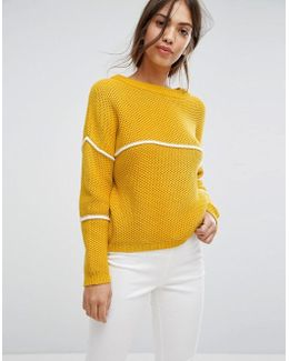 Stripe Knitted Jumper