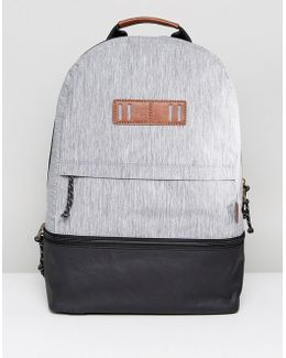 Summit Backpack In Canvas & Coated Canvas