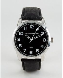 Watch Black Dial And Strap