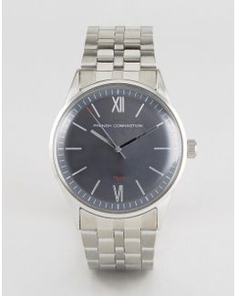 Watch With Black Dial Stainless Steel