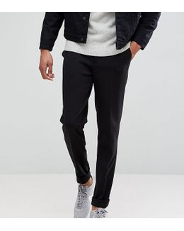 Tall Tapered Cropped Jersey Trousers