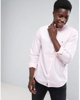 Oxford Shirt Buttondown In Regular Fit Pink