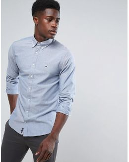 Oxford Shirt Buttondown In Regular Fit Blue