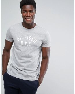 Chase Large Logo T-shirt In Gray
