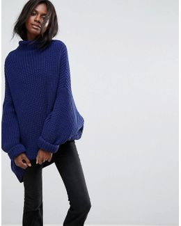 Swim Too Deep Roll Neck Jumper