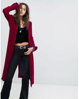 Dhalia Wizard Velvet Duster Coat