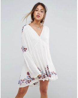 Te Amo Embroidered Dress