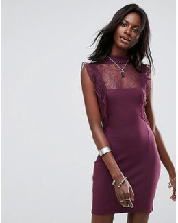 Beaumont Muse Lace Detail Dress
