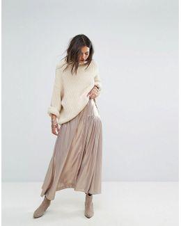Catch The Wind Metallic Skirt