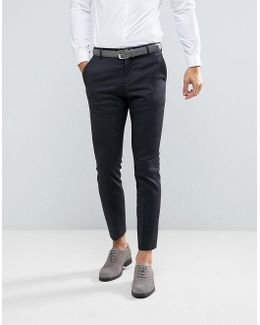 Slim Suit Pant In Dark Gray