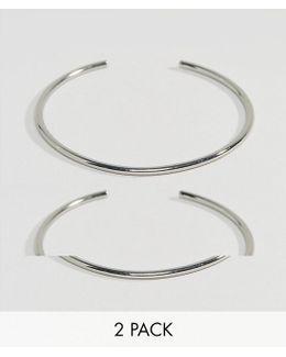 Pack Of 2 Fine Arm Cuffs