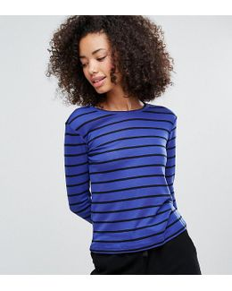 Stripe Long Sleeve Stripe T-shirt